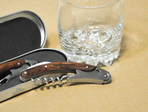 РЖД медицина деколь на стаканах и гравировка штопора